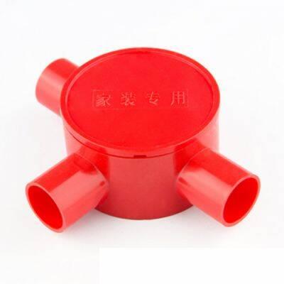 国产PVC线管圆三通