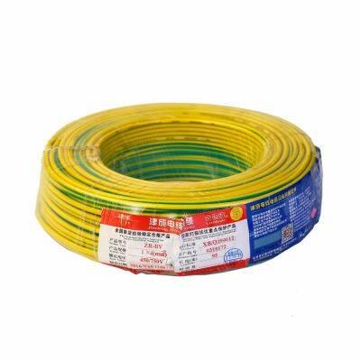津成4㎡电线黄绿